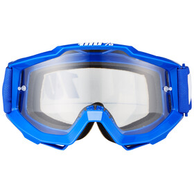 100% Accuri Goggle Anti Fog Clear Lens / reflex blue
